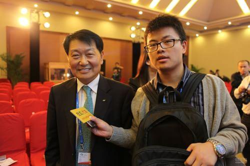 搜狐汽车采访北京现代汽车有限公司总经理、社长 卢载万