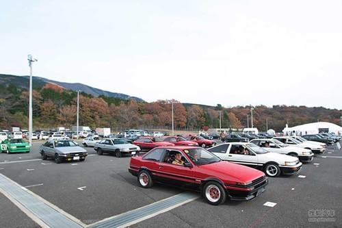 日本GAZOO赛车节 丰田家族全员出动