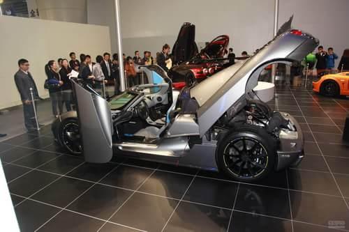 柯尼希赛尔Agera车展实拍