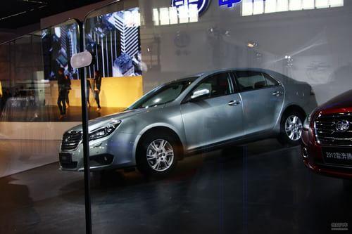 一汽奔腾B90 2012北京车展探营实拍
