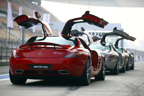 奔驰 SLS AMG 实拍 外观 图片