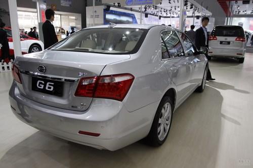 比亚迪G6车展实拍