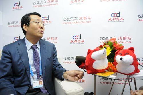 搜狐汽车独家专访 广汽集团股份有限公司副总经理 冯兴亚