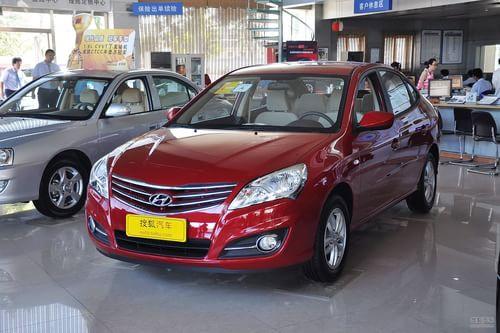 2011款北京现代新悦动 1.6L手动舒适型