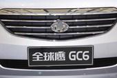 全球鹰GC6 上海车展实拍