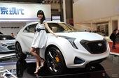 现代Curb概念车 上海车…