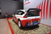 雪铁龙C4 WRC 车展实拍