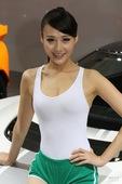 莲花3号车模 2012北京车展实拍