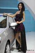 2011上海车展最美的50位女车模