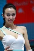 比亚迪4号车模 2012北京车展实拍