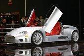 世爵C8 Spyder上海车展…