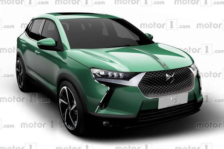 定位小型SUV 全新DS 3预计2019正式发布 定位小型SUV 全新DS 3预计2019正式发布