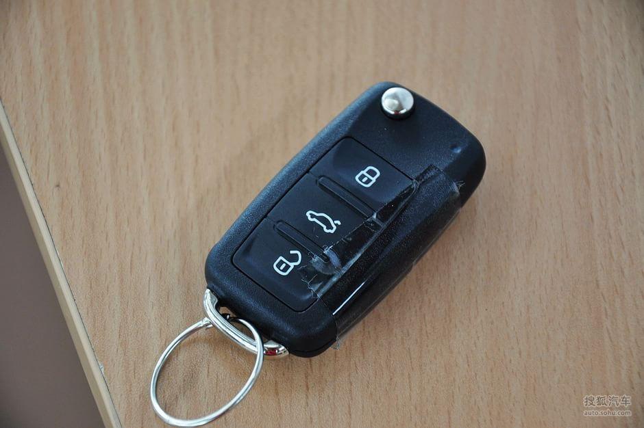 上海大众 途安 汽车钥匙 高清图片