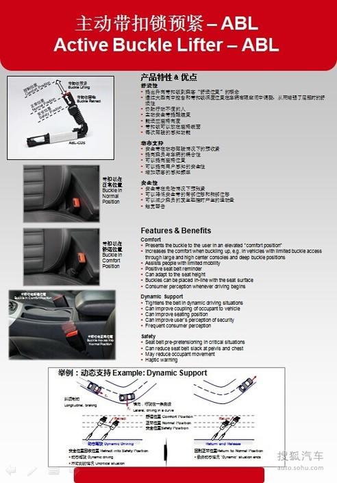 天合汽车被动安全产品展示 天合汽车被动安全产品展示