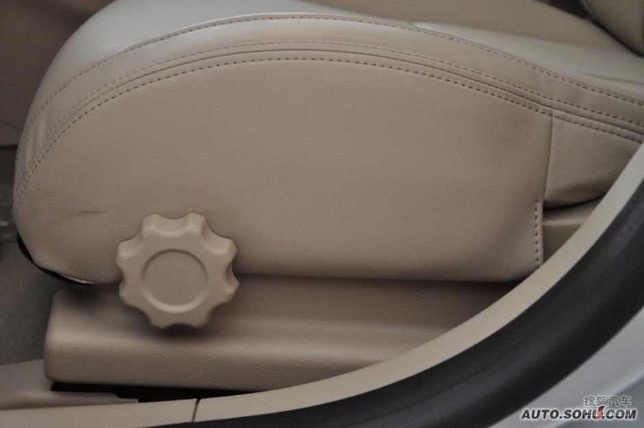 上海汽车 550 座椅调节