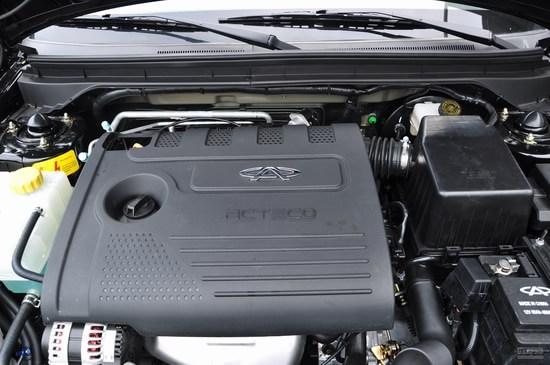 奇瑞 E5 实拍 底盘/动力 图片