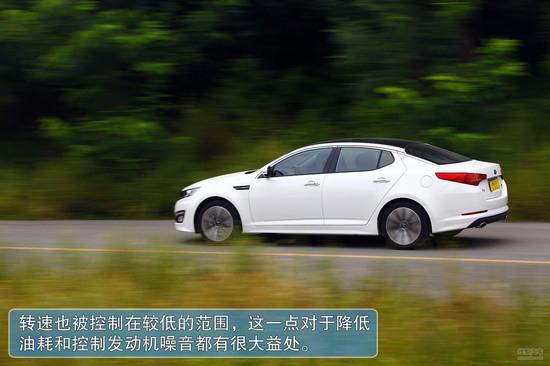 行驶轻快还能更省油 测国产起亚中级车K5高清图片