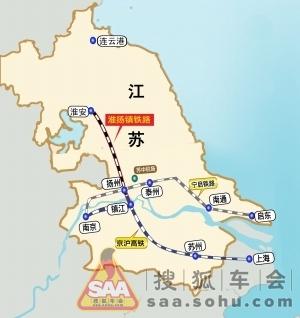 淮扬镇铁路有望明年开建图片