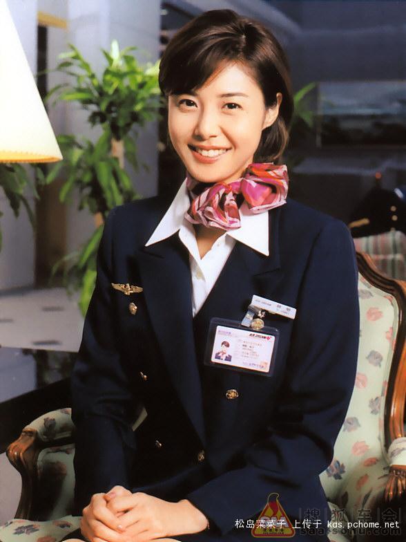 日本全日空与日航空姐的共同敌人大和拜金女松