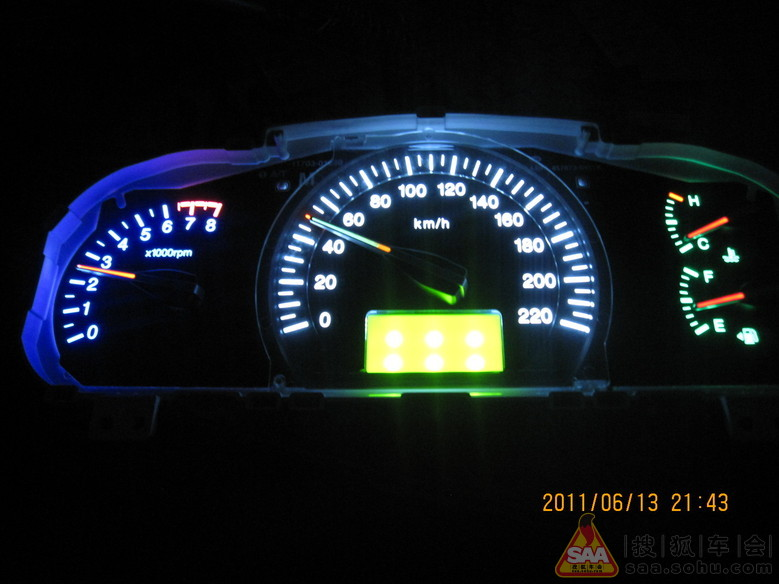 专业改装仪表盘灯、 qq:957476925高清图片