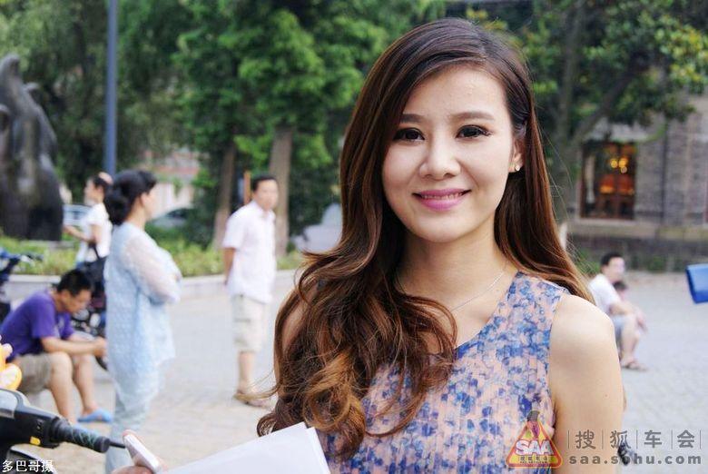 江苏城市频道美女主播聂琪