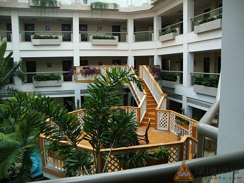 蟹岛会议楼内景