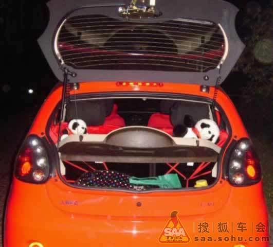 红色吉利熊猫的真实试驾感受