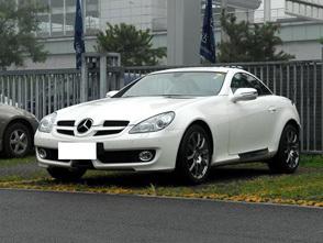 奔驰slk 2010款 slk 200k跑车高清图片