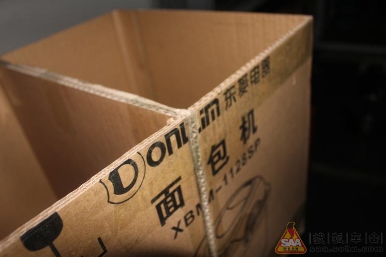 【魔盒】纸箱改造厨房置物架; 【绿色装修】用废旧纸箱diy储物架,超图片