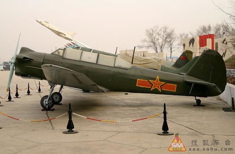 """新中国制造的第一架飞机""""初教-5"""""""