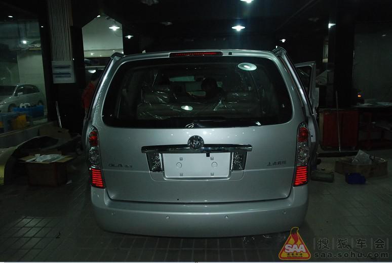 杭州速度激情别克GL8汽车音响改装隔音升级高清图片
