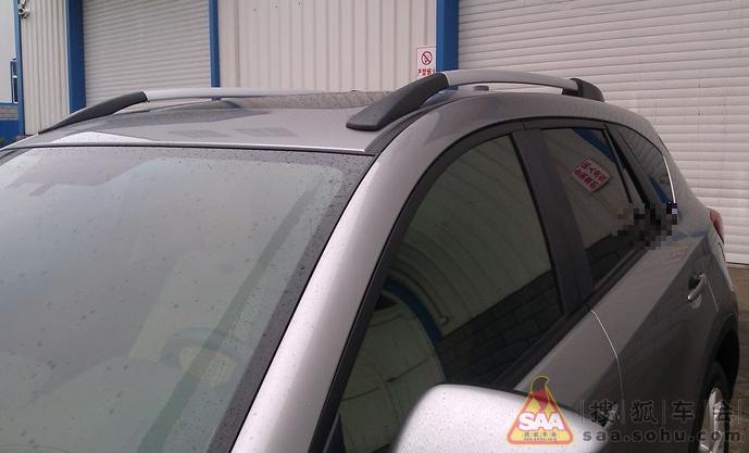 马自达cx-5装导航和行李架的照片!!!!高清图片