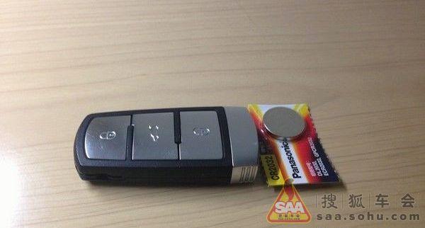 自己手动更换cc车钥匙电池