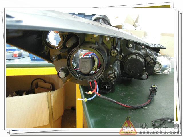 "HYUNDAI IX35 установка Koito Q5 ver ""Y"""