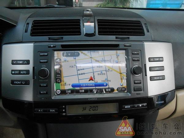 卡仕达dvd导航一体机+倒车摄像头:高清图片