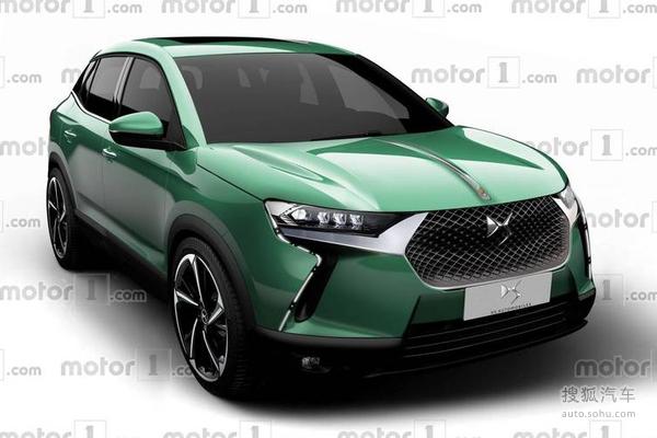 定位小型SUV 全新DS 3预计2019正式发布